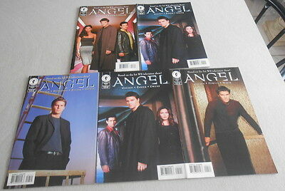 ANGEL  / Lot 4 comics en anglais comme Neuf Based on the hit WB television show