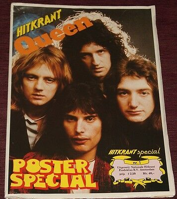 Hitkrant Nº1  Queen Special Poster Book