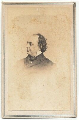 American Stage Actor Tom Placide Original CDV photographed by Fredricks