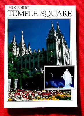 1990s Historic Temple Square Salt Lake City Vacation Book Visitor Guide meac5