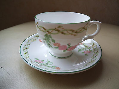 LAURA ASHLEY Collectibles 1989  CUP & SAUCER  NEW