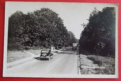RP Postcard c.1950 TRAFFIC MAIN ROAD NETTLEBED WOODS OXFORDSHIRE