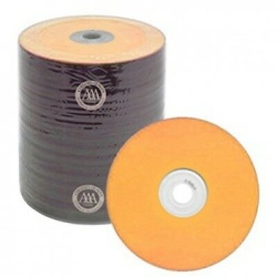 500 Spin-X Diamond Certified 48x CD-R 80min 700MB Orange Color Top Thermal