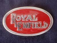 Classic Royal Enfield Pewter Style Metal Belt Buckle
