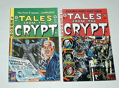 Tales From The Crypt Volume #1 No.1 (Lot of 2) Terror Horror