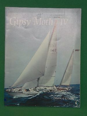 Vintage 1969 Paperback Book Gipsy Moth IV - Carr Sir Francis Chichester Sailing