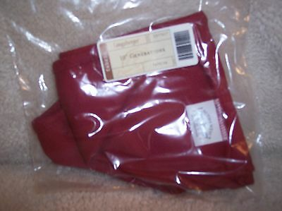 "Longaberger 10"" GENERATIONS BASKET LINER PAPRIKA - 2016 HOLIDAY HOST GENERATIONS"