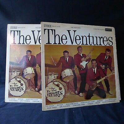THE VENTURES The Ventures MONO PRESS & STEREO PRESS LONDON UK 2LP