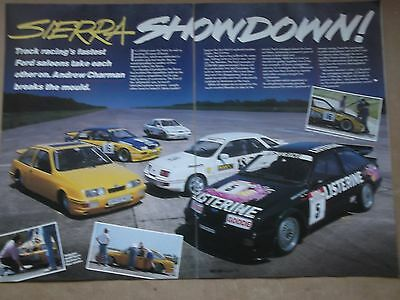 Ford Sierra - Track Cars Tested