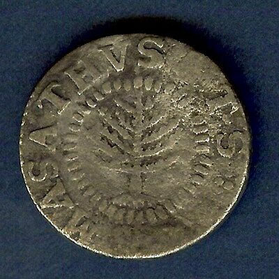 1652 Massachusetts Pine Tree Shilling -Small Planchet- Choice Extremely Fine
