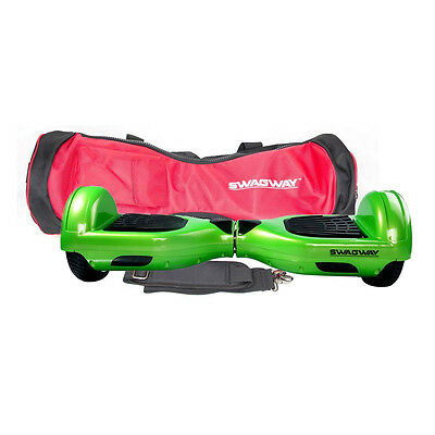 Swagway X1 Two Wheel Self Balancing Scooter Green & Carry Bag UL Certified Safe