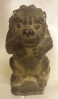 Antique Chinese Hardstone Foo Dog circa late 19th century