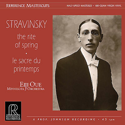 * REFERENCE RECORDINGS - RM1515 - Eiji Oue - THE RITE OF SPRING - Stravinsky *