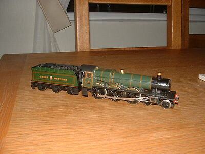 HORNBY GWR HALL 4-6-0 LOCO No 4908 BROOME HALL in GWR Green Livery