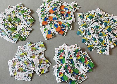 2005 Australia Birds 100+Stamps All Australian Parrots Used Off Paper