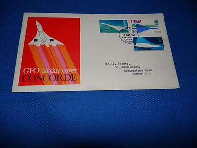 Concorde UK First Day Cover 3rd March 1969