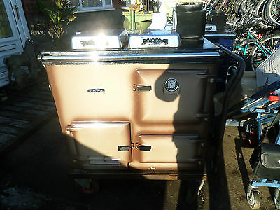 Rayburn Nouvelle Gas Range Cooker Cooking Heating Like Aga