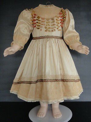 "French Doll Dress - Antique Style for Jumeau,Bru. 24-26""doll - Made in France."
