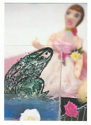 Peter Gabriel Rare Postcard. Promoting KISS THAT FROG the new single. (1993)