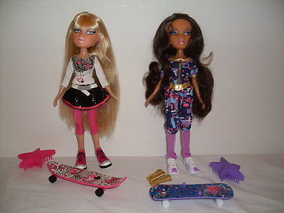 Bratz Doll - Sunshine Style Cloe And Yasmin - Rare/htf