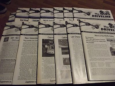 Ncrs Driveline Magazine Lot 13 Issues 2008-2013