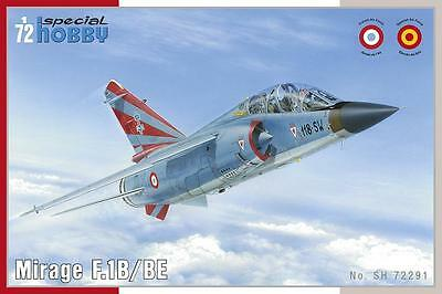 SPECIAL HOBBY 72291 Mirage F.1 B in 1:72