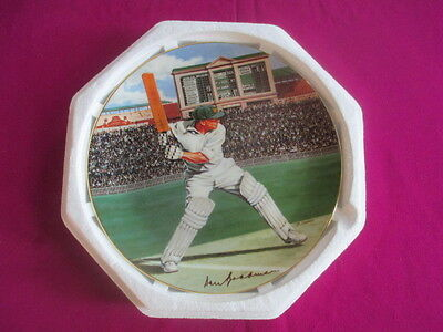 Don Bradman - Limited numbered edition Royal Doulton Collector's Plate