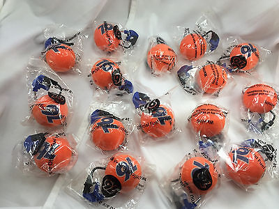 Lot (16) Union 76 Gas Station Antenna Ball Toppers Ball w/ Mini Gas Pump Model