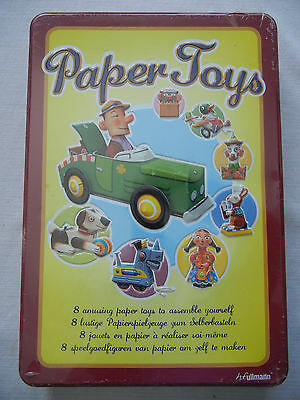 h.f. Ullmann Paper Toys metal kit Paper Toys to Assemble Yourself complete new