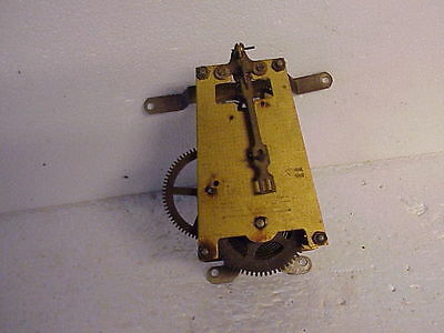 Vintage 8 Day Time Only Smith's English Clock Movement parts repair W