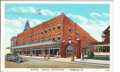 1933 The Hotel James Hatcher in Pikeville, KY Kentucky PC