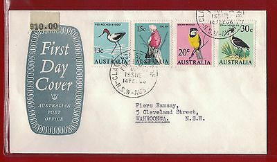 1966 Australia First Day Cover Birds NSW - Ramsay 14.09.66