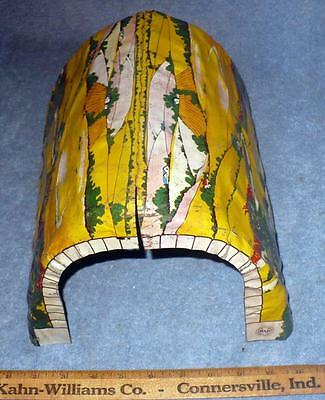 VINTAGE MARX LITHO TIN TRAIN TUNNEL /1950.s SCALE PAINTED