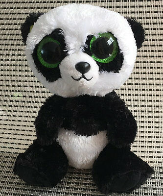 Soft Toy From TY BEANIES BOOS Panda Bamboo 6 inch Stuffed toy Without Heart tag