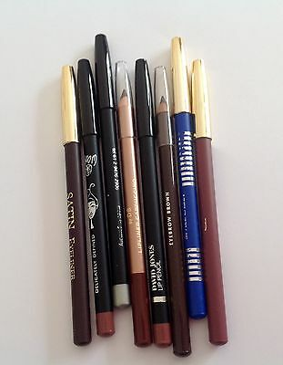Mixed Makeup -Bulk Lot- Brand Name LIP LINERS,  EYE LINERS