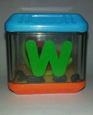 Fisher Price Peek A Blocks Letter W Watermelon Alphabet Replacement Block
