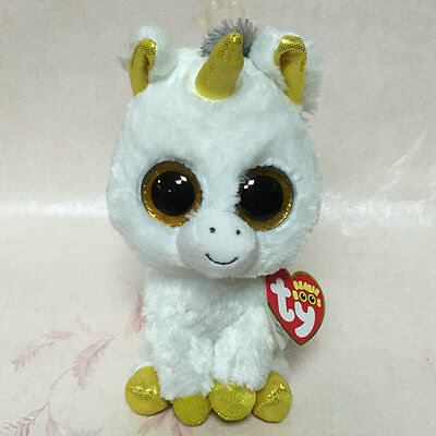 Soft Toy From TY BEANIES BOOS Unicorn Pegasus Stuffed doll 6 inch tall