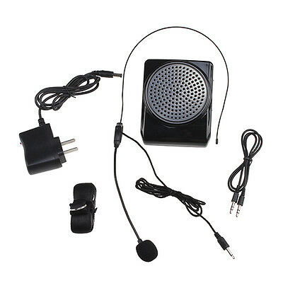New Portable 3 in 1 Mini Multi Voice Amplifier Microphone Megaphone Loudspeaker