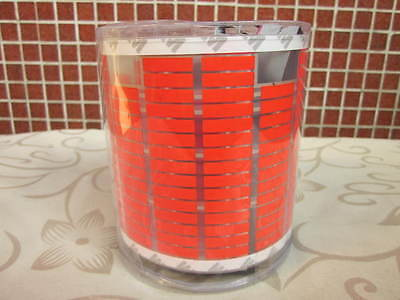 Bright Red 45cm Car Sound Music Activated Equalizer EL Neon Light R45