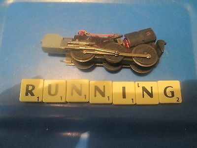 Tri-Ang `tt Gauge` T91 Windsor Castle Working Motor/chassis & Running Gear