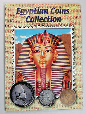 EGYPTIAN COINS COLLECTION of 12 Old coins - all different