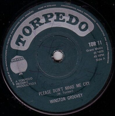 Winston Groovey/skinhead Reggae/torpedo 45/please Don't Make Me Cry - Motion