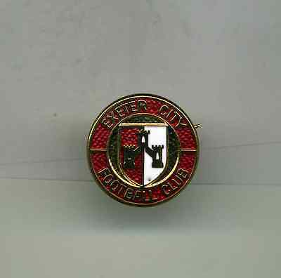 Rd  Exeter City  Fc     Football Pin Badge