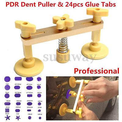 Autos Paintless Tool Bridge Dent Puller Remover PDR Kits Reparación Abolladuras