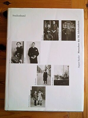 August Sander Photography Book