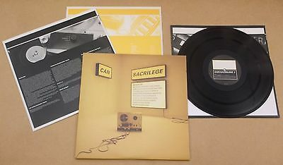 CAN Sacrilege 1997 UK vinyl 3-LP set NM/MINT Brian Eno UNKLE The Orb Sonic Youth