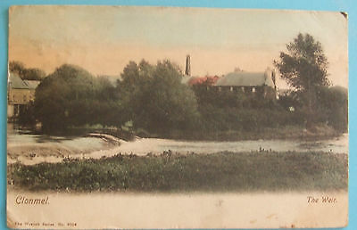 WRENCH SERIES Postcard 1905 THE WEIR CLONMEL Co.TIPPERARY IRELAND
