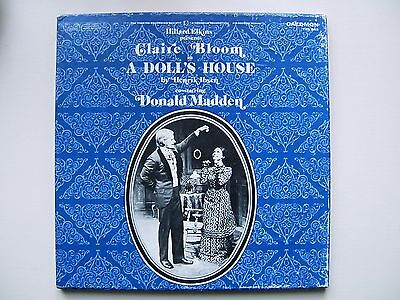 "Caedmon TRS 343.  Henrik Ibsen's ""A Doll's House "". Claire Bloom, Donald Madden."