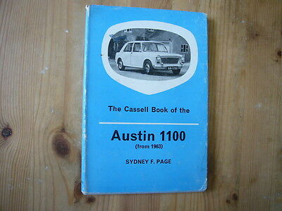 Cassell Book Of The Austin 1100, 1964 first edition, excellent condition