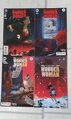 Legend of Wonder Woman issues # 6 to 9.  DC Comics